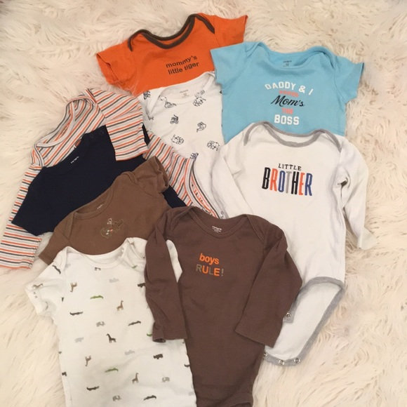 12d079a7ebd4 Carter s Other - 💕Bundle of baby boys onesies for summer!
